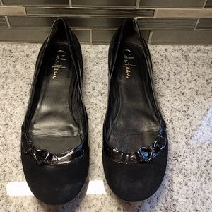 Cole Haan Nike Air suede ballet flats